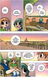 excerpt from Scott Pilgrim, Vol. 4